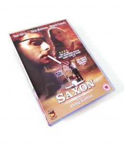 SAXON DVD package photo